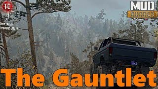 SpinTires Mud Runner: The Gauntlet | MASSIVE NEW MAP! w/ Twisty Roads and Realistic Trails