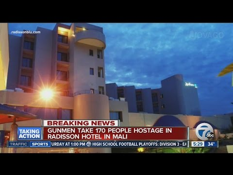 170 hostages taken in attack at Radisson Blu Hotel in Bamako, Mali