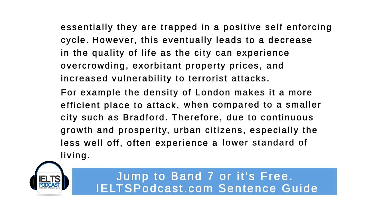 IELTS Essay Band 9 Sample Answers | IELTS Podcast