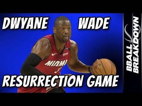Dwyane Wade Resurrection Game: Sixers At Heat Game 2