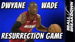 Dwyane Wade Resurrection Game: Sixers At Heat Game 2