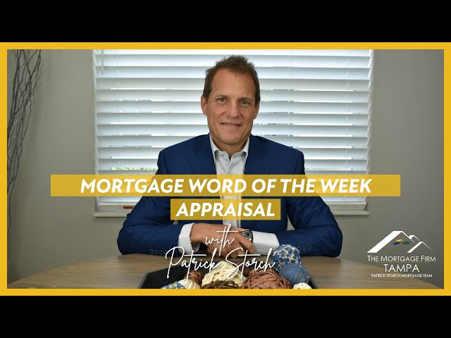 MORTGAGE WORD OF THE WEEK 📚 Appraisal