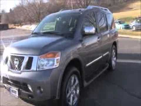 used 2014 nissan armada platinum 4wd for sale at honda cars of bellevue an omaha honda dealer. Black Bedroom Furniture Sets. Home Design Ideas