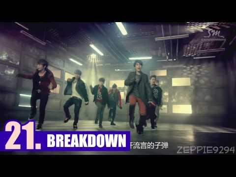 [2015] My TOP 40 SUPER JUNIOR Songs ♥
