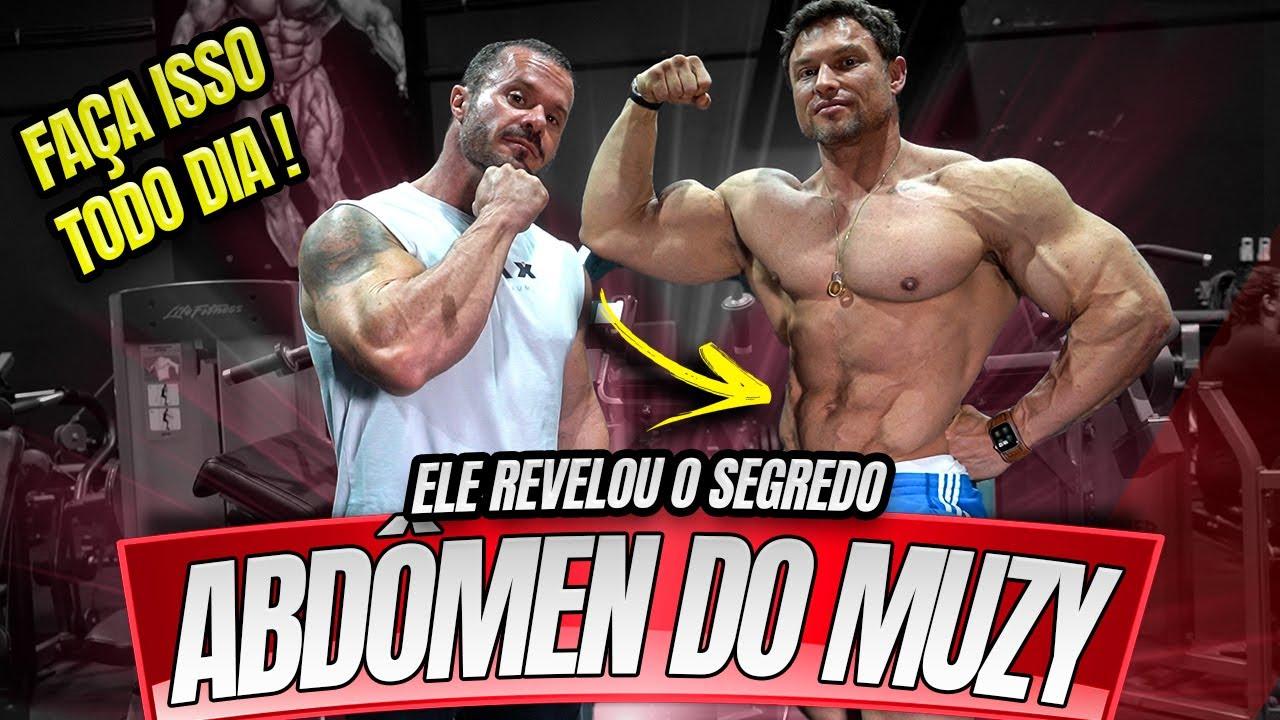 O SEGREDO DO ABDÔMEN DE PAULO MUZY