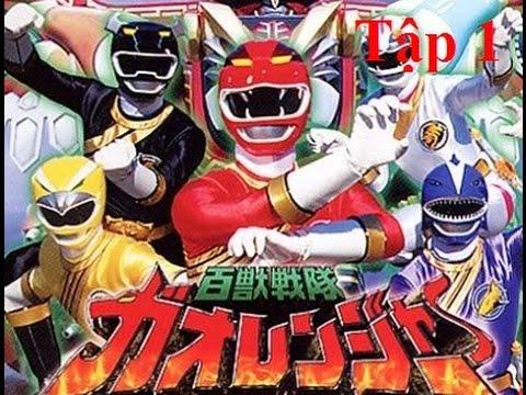 Năm Anh Em Siêu Nhân Gao (Gao Ranger)  Tập 1: Tiếng Gầm Của Sư Tử