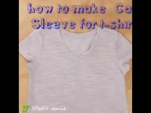 how to make Cat Sleeve for t-shirt .mr. shaf🤓👌 (80)