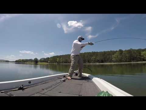 Bass Fishing Madison County Lake