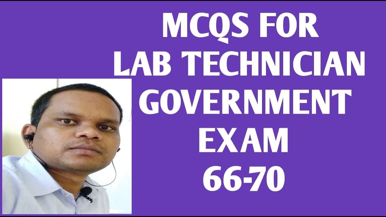 Lab Technician MCQS For Government Exam 66-70