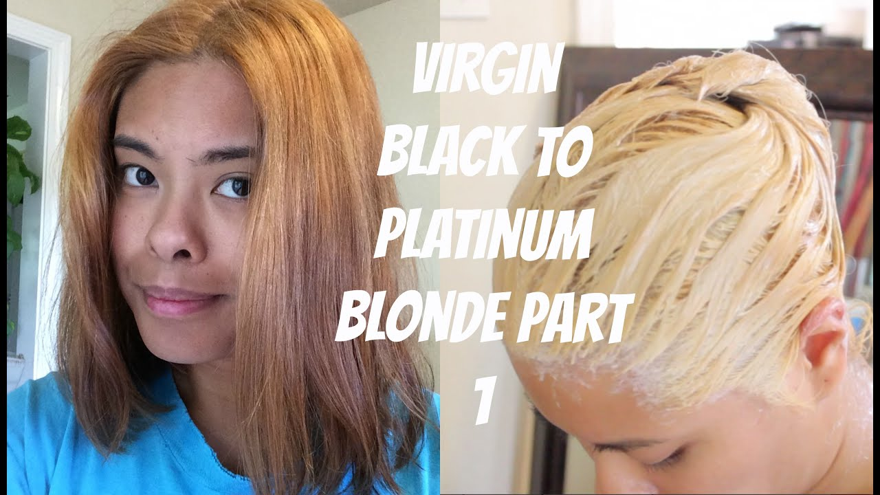 Asian Girl With Platinum Hair