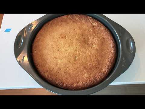 Easy Coconut Cake Keto, low carb, gluten free