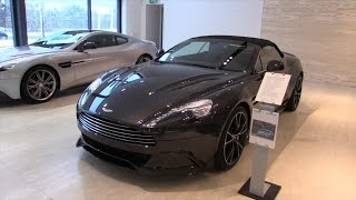 Aston Martin Vanquish Volante 2015 In Depth Review Interior Exterior