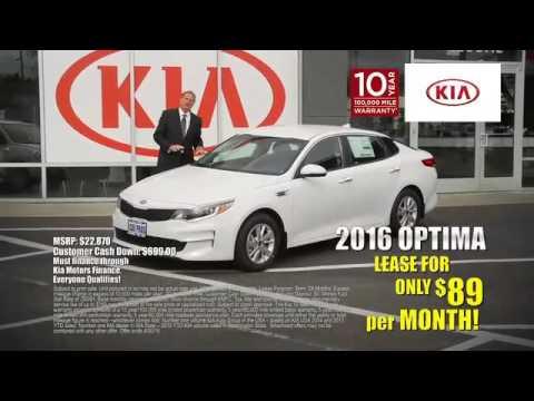 Car Pros Tacoma >> Car Pros Kia Tacoma 2016 Kia Optima Lease Youtube