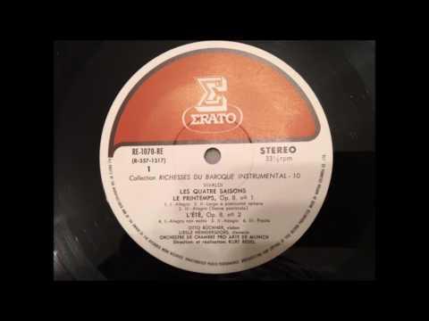 "Vivaldi  ""Le quattro stagioni (The Four Seasons)""  -  Kurt Redel (from LP)"