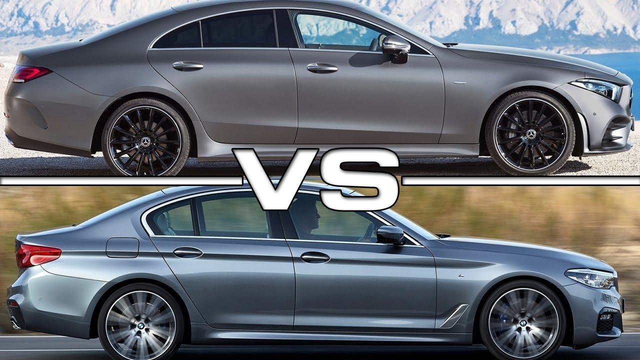 2019 Mercedes CLS Vs 2018 BMW 5 Series