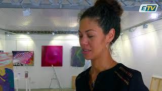 Cette galerie d'art est ouverte à tous pour venir admirer ou s'exercer...