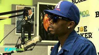 B.o.B Interview  @ Z100 08/05/2012