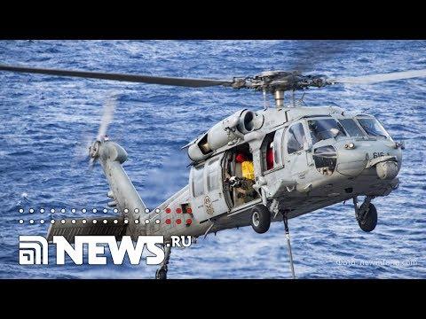 В Нью-Йорке вертолёт рухнул в Гудзон