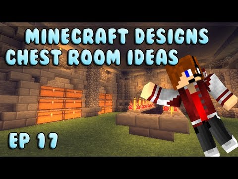 Minecraft Designs: Chest Room Ideas Ep 17