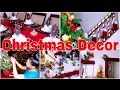 HOLIDAY HOME DECOR    How We Decorate our House for Christmas