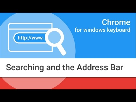 Navigating Chrome on Windows by Keyboard: Searching and the Address Bar thumbnail