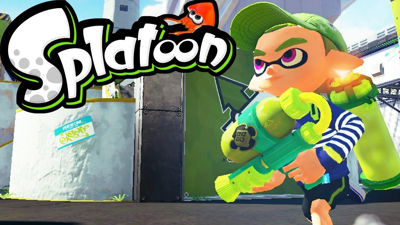 Splatoon (Nintendo Wii U, 2015) BRAND NEW / IN STOCK ...  |Splatoon Wii