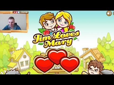 №262: JIM LOVES MARY   ДЖИМ ЛЮБИТ МЕРИ - ЗАПРЕТНАЯ ЛЮБОВЬ смешная игра для детей