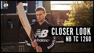 New Balance TC1260 Cricket Bat - Closer Look