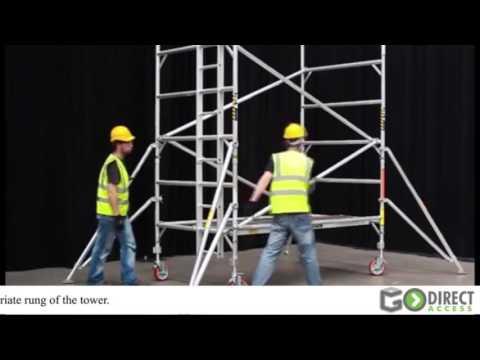 GDA500 Double Width 4 Meter Platform Height