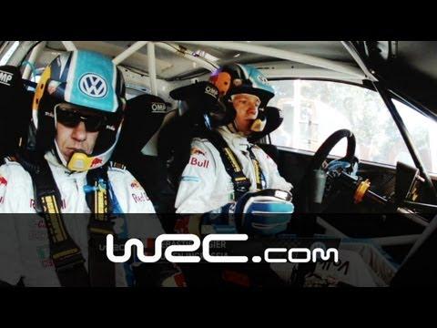 Sebastien Ogier - Onboard SS06 @ WRC Rally Italia Sardegna 2013