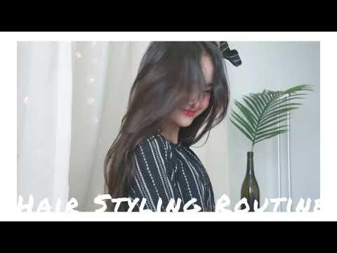 Повседневная Корейская Укладка/Korean Everyday Hair Style ✂️