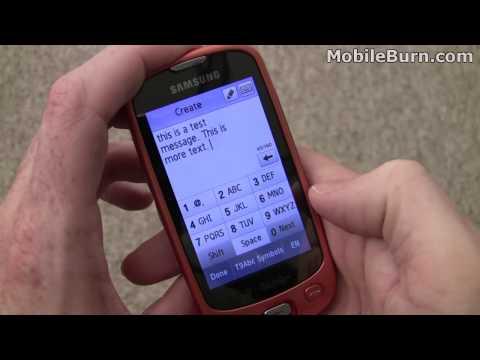Samsung T749 Highlight - part 1 of 2