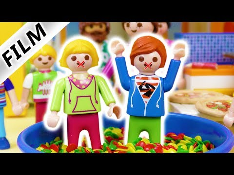 """Playmobil Film Deutsch - DER """"NICHT-REDEN-TAG""""! TYPISCH JULIAN! ER ERFINDET NEUEN TAG Familie Vogel"""