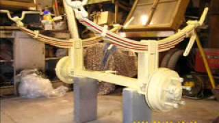 Part One Build Of Bowtop Gypsy Wagon.wmv
