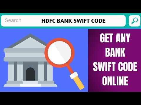 Hdfc Bank Swift Code | How To Find Swift Code Of Any Bank