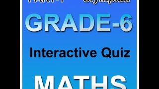 Math Olympiad Practice Book For 6th Class