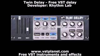 vuclip Twin Delay - Free VST delay - vstplanet.com
