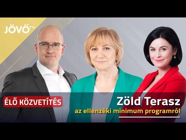 A közös ellenzéki minimumprogramról - Zöld Terasz Nagykátán | Jövő TV
