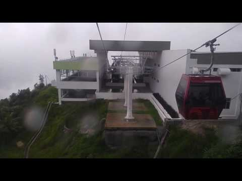 Genting Highlands Awana Skyway Gondola Cable Car (Sky Avenue to Awana , Descend)