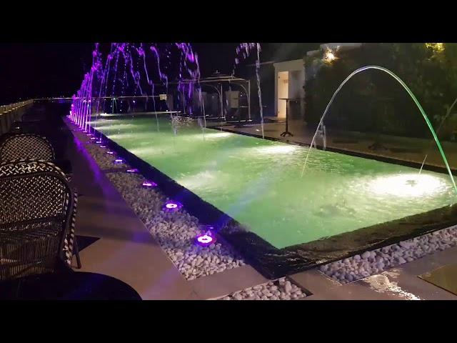 Tsunami - Swimming Pool Dancing Fountain in Hoi An City