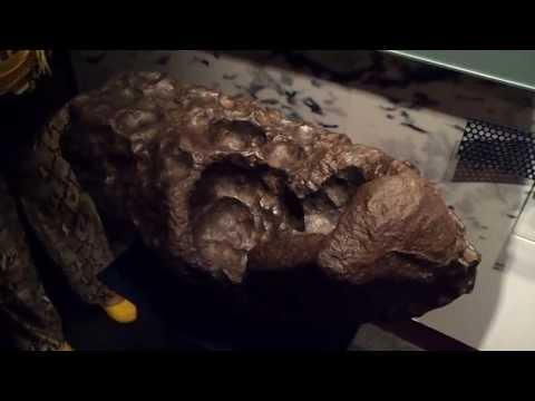 Iron-Nickel Meteorite from Namibia at Sharjah