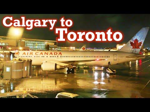 Full Flight: Air Canada B767-300ER Calgary To Toronto (YYC-YYZ)