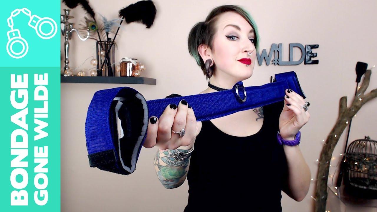 how to use a spreader bar | leg spreader | bondage gone wilde - youtube