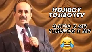 Hojiboy Tojiboyev - Qattiq X mi? Yumshoq H mi? | Хожибой Тожибоев - Қаттиқ х ми? Юмшоқ ҳ ми?