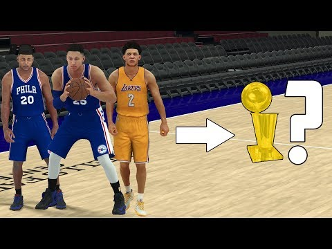 Download Youtube: CAN A TEAM OF NBA ROOKIES WIN AN NBA CHAMPIONSHIP? NBA 2K17 GAMEPLAY!