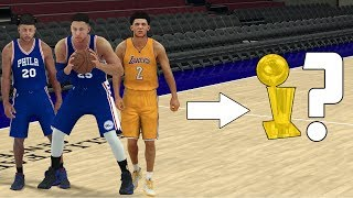 CAN A TEAM OF NBA ROOKIES WIN AN NBA CHAMPIONSHIP? NBA 2K17 GAMEPLAY!