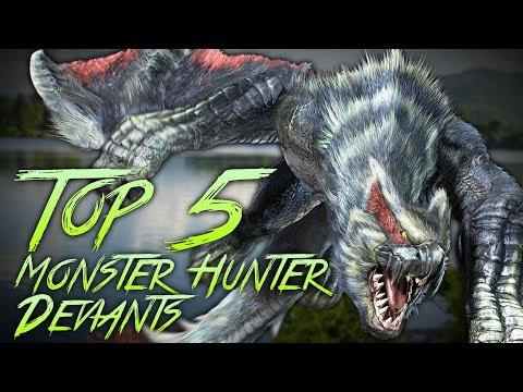 Top 5 Favorite Monster Hunter Deviants