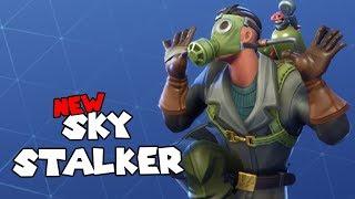 *NEW* SKY STALKER SKIN - Fortnite