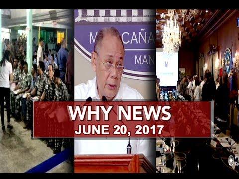 UNTV: Why News (June 20, 2017)