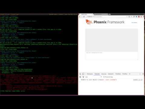 Build a chat application in Phoenix - Public Lobby - Part 1
